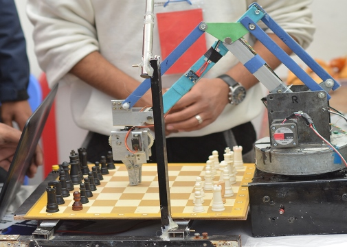Chess playing robot at LOCUS 2018